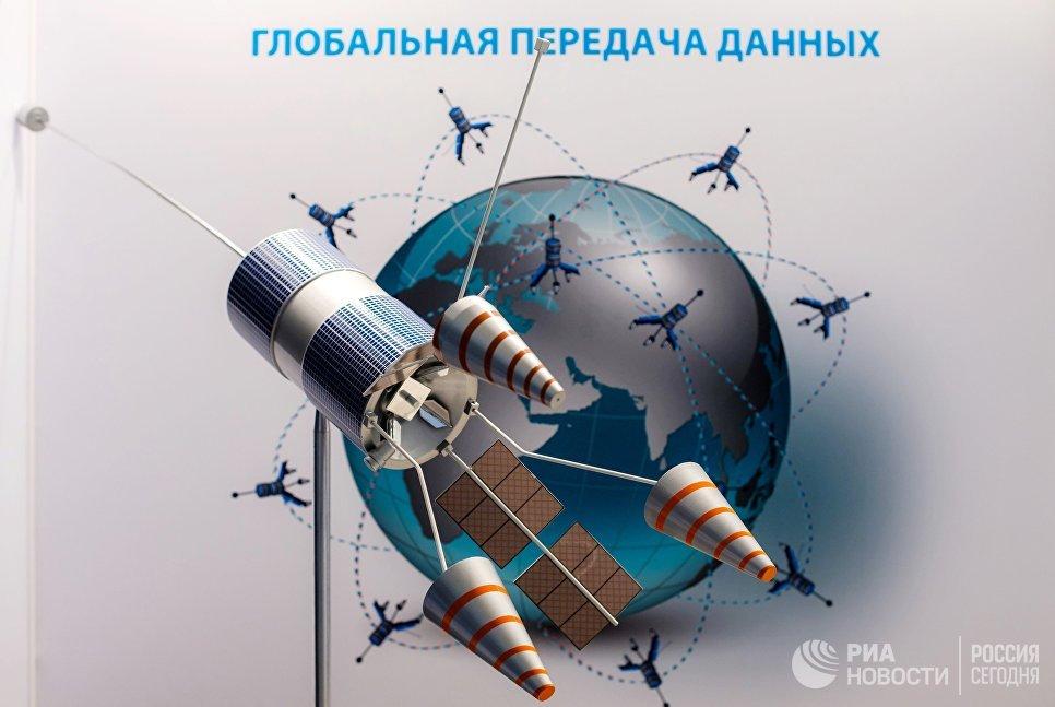 Стенд ГК Роскосмос на площадке Восточного экономического форума во Владивостоке
