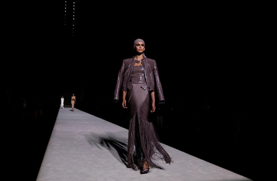 Показ коллекции Tom Ford в рамках Недели моды в Нью-Йорке