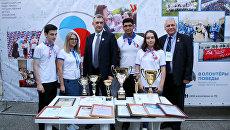 Волонтеры Победы принимают участие в форуме Каспий-2018