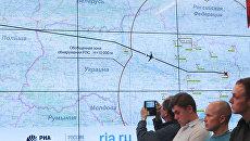 Брифинг Министерства обороны РФ по  крушению Боинга-777. Архивное фото
