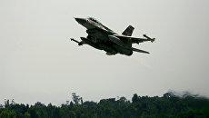 Израильский истребитель F-16. Архивное фото