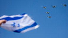 Израильские истребители F-16. Архивное фото