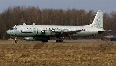 Самолет радиоэлектронной разведки Ил-20. Архивное фото