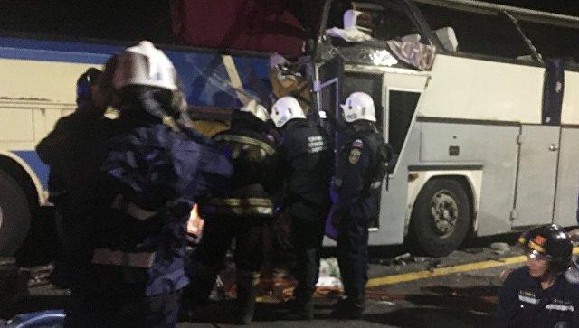 Пострадавшая в ДТП с автобусом в Воронежской области умерла в больнице