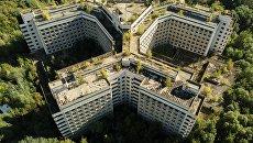 Заброшенное здание больницы в Ховрино. Архивное фото