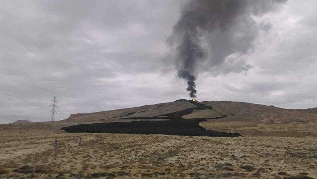 Извержение вулкана Отман-Боздаг. 23 сентября 2018