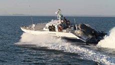 Катер береговой охраны пограничной службы ФСБ России. Архивное фото