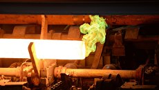 Трубопрокатный цех нового комплекса на Северском трубном заводе в Свердловской области