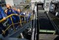Разгрузка угля на Рефтинской тепловой электростанции ПАО Энел Россия