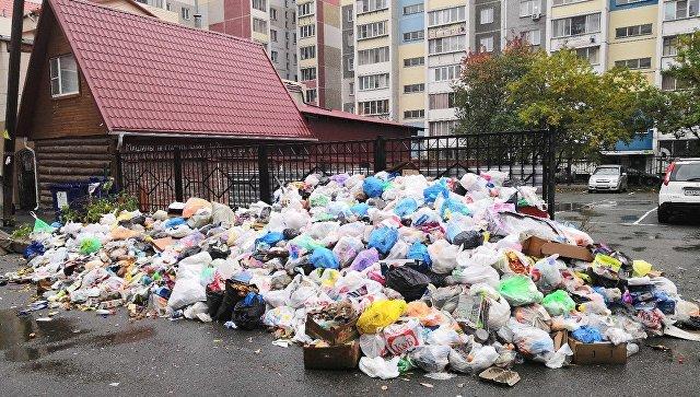 Челябинск уже две недели утопает в горах зловонных отходов