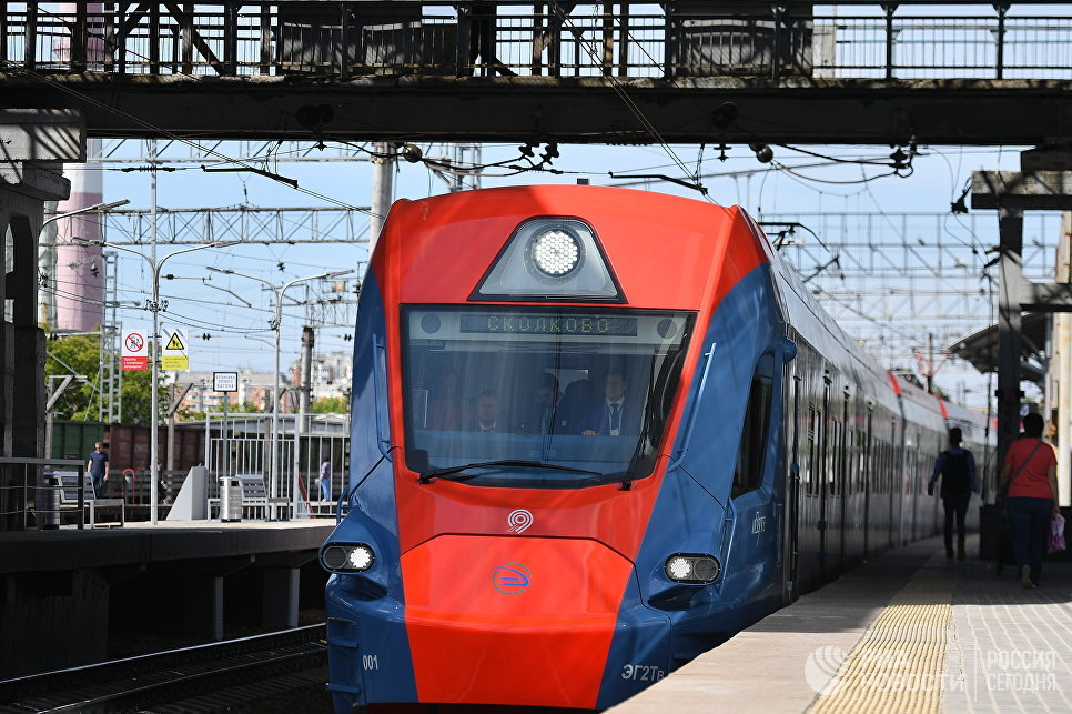 Поезд Иволга. Архивное фото