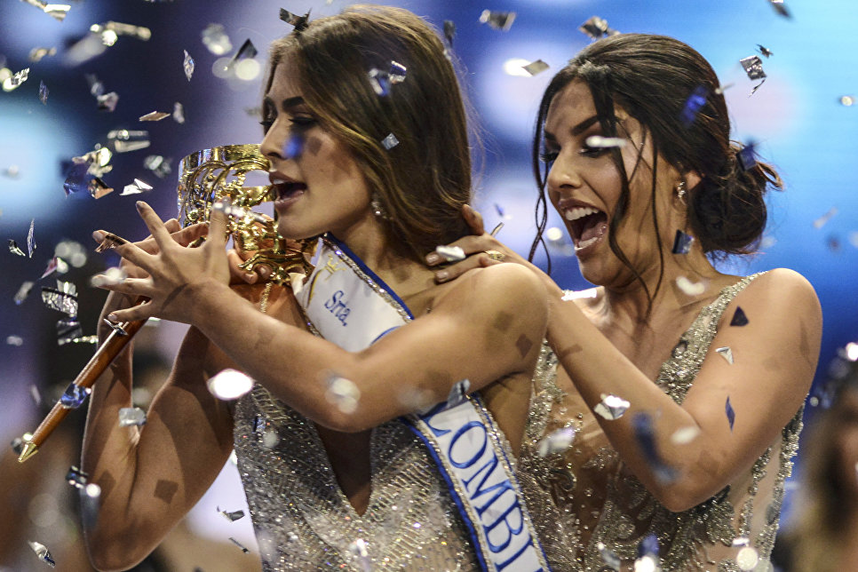 Победительница конкурса красоты Мисс Колумбия Valeria Morales