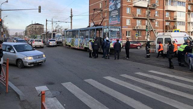Место трагедии в Иркутске. 8 октября 2018