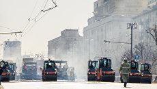 Ремонт Фрунзенской набережной