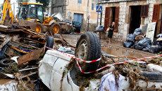 Последствия наводнения на Майорке. Архивное фото