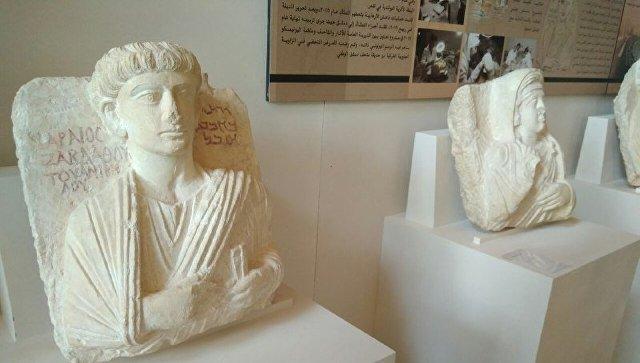Сирийские музейщики хотят показать в Москве отобранные у боевиков артефакты