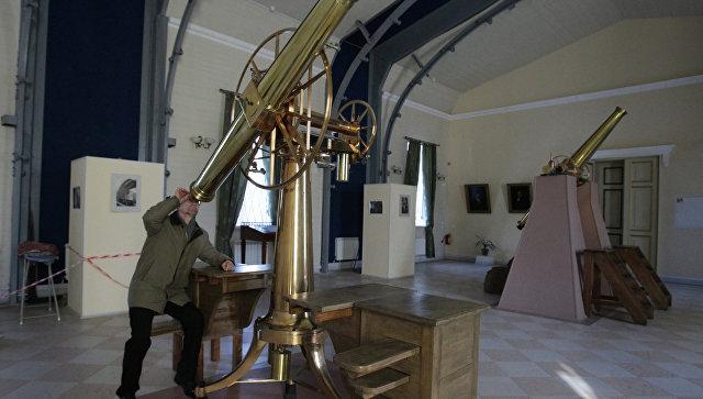 Пулковская астрономическая обсерватория. Архивное фото