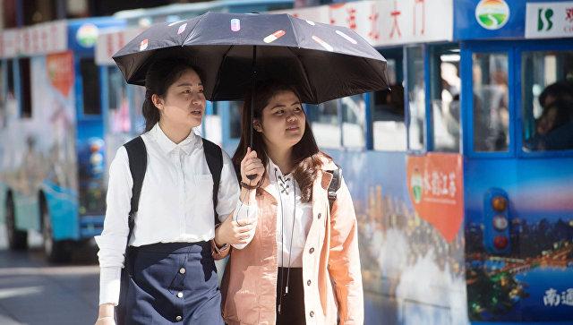 Девушки. Китай