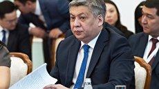Министр иностранных дел Киргизии Эрлан Абдылдаев. Архивное фото