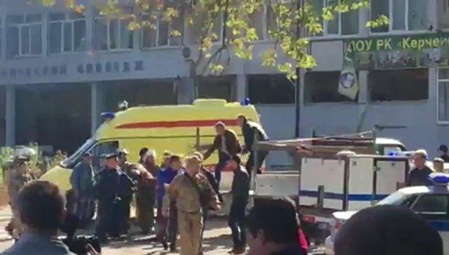 """""""Окна вылетели вместе с рамами"""": очевидец рассказал о взрыве в Керчи"""