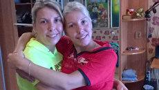 Ульяна Киселева (слева) и Ксения Музофарова (справа)