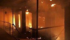 Пожар. Архивное фото