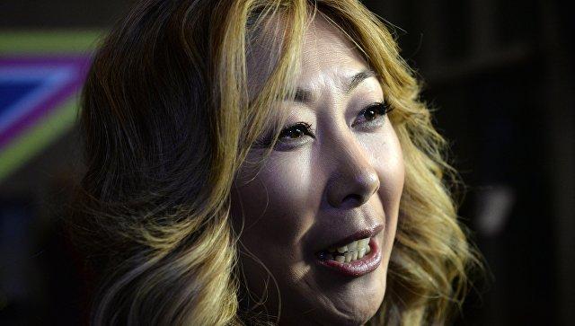 Певица Анита Цой. Архивное фото