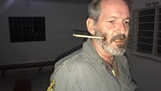 Охотник на браконьеров, раненный стрелой в Кении
