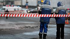 Коммунальная авария на площади Труда