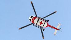 Вертолет Центра экстренной медицинской помощи (ЦЭМП). Архивное фото