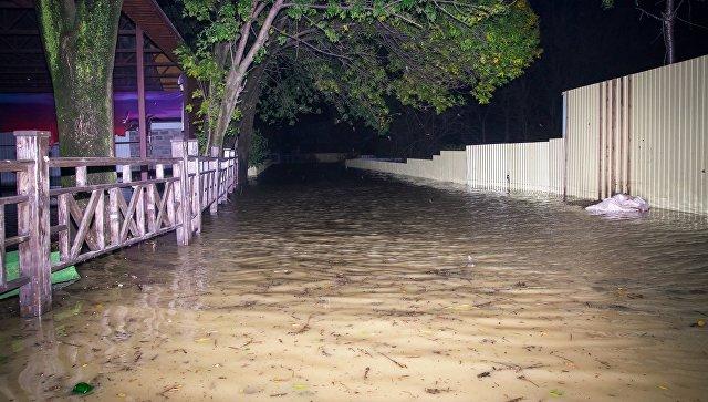 Глава МЧС проверил ход ликвидации последствий наводнения на Кубани