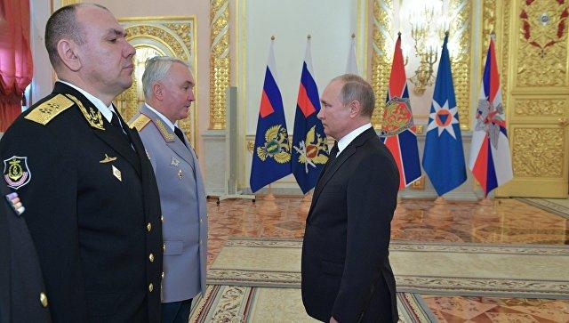 Путин объявил оросте военных пенсий вбудущем году до6%