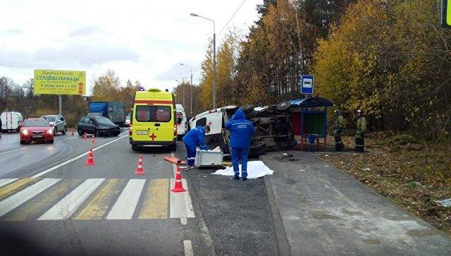 В Подмосковье произошло ДТП с участием машины скорой помощи