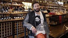 Евгений Чичваркин в своем винном магазине Hedonism Wines в Лондоне