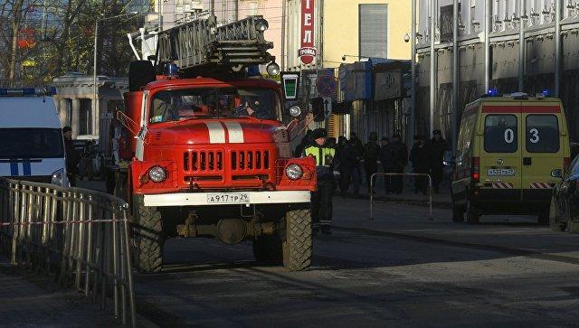 При взрыве в Архангельске пострадали три сотрудника ФСБ