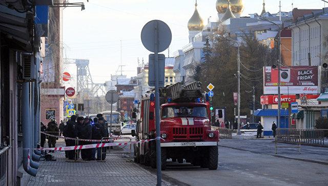 В Архангельске омбудсмен взяла на контроль ситуацию со взрывом в здании ФСБ