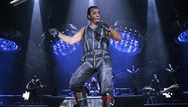В Москве выступит фронтмен Rammstein Тилль Линдеманн