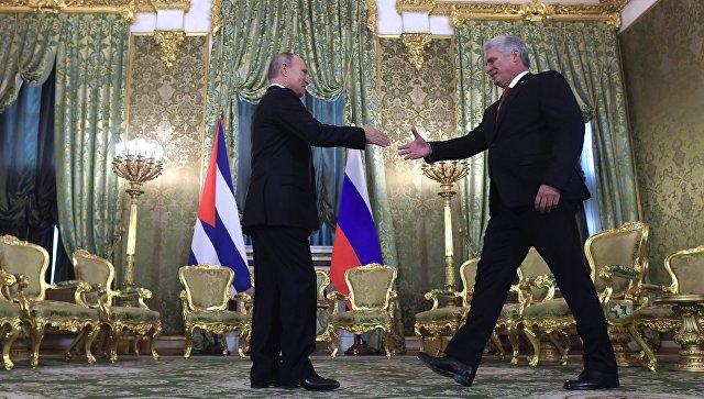 Товарооборот России и Кубы увеличился на 17%