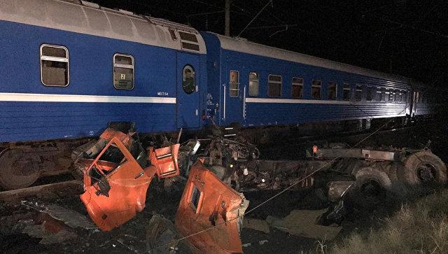 На Кубани после ДТП с поездом и грузовиком начали проверку