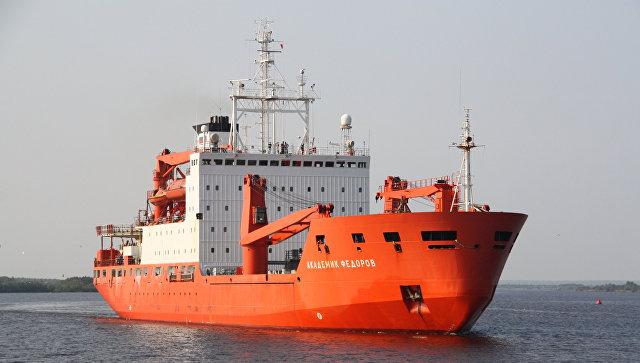 """Научное судно """"Академик Федоров"""" отправится к берегам Антарктики 7 ноября"""