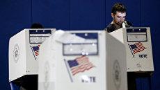 Голосование на промежуточных выборах в конгресс США в Нью-Йорке. Архивное фото