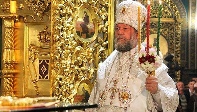 Митрополит Молдавский и Кишиневский Владимир. Архивное фото