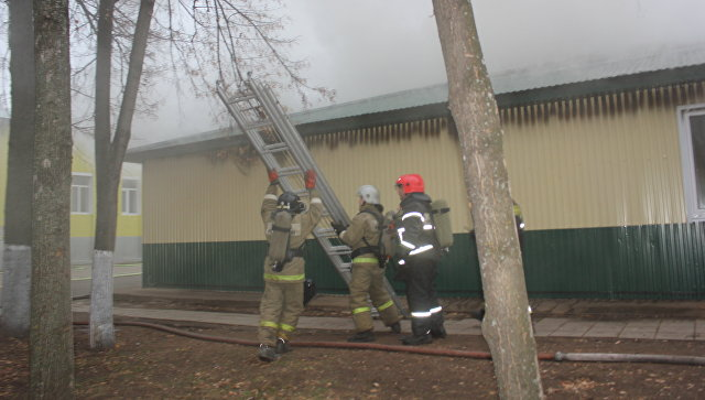 В МЧС уточнили, что не проводили эвакуацию при пожаре в Оренбурге