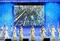Хореографический коллектив Ярославна на фестивале творчества, посвященном Великому стоянию на реке Угре в 1480 году