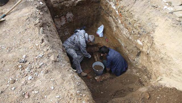 В Екатеринбурге археологи нашли некрополь с захоронениями младенцев