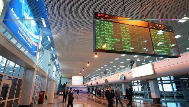 Рейс авиакомпании Air France экстренно сел в Иркутске из-за задымления