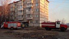 Взрыв газа в жилом доме в Еврейской АО