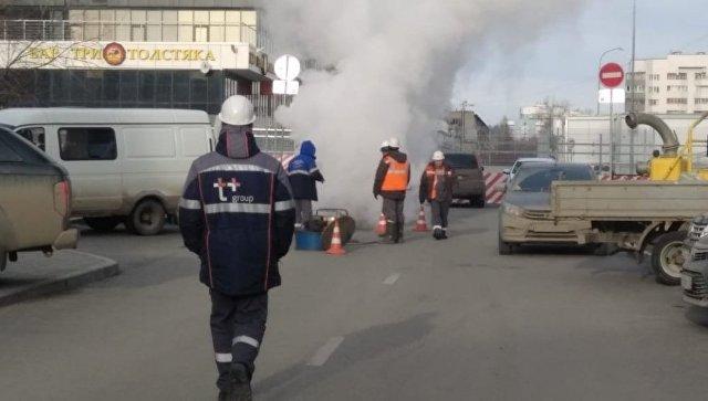 В Екатеринбурге детский сад затопило кипятком из-за аварии
