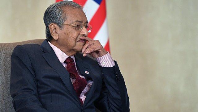 Премьер-министр Малайзии Махатхир Мохамад. Архивное фото