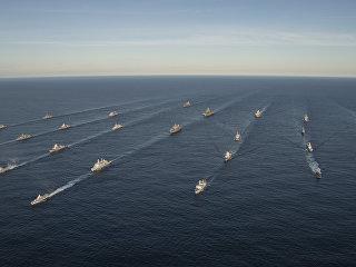 Двадцать четыре корабля из четырнадцати стран принимают участие в совместных учениях войск НАТО Trident Juncture 2018 (Единый трезубец) в Норвежском море. Архивное фото